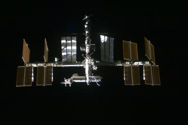 TKS link skrieja kosminė nuolauža
