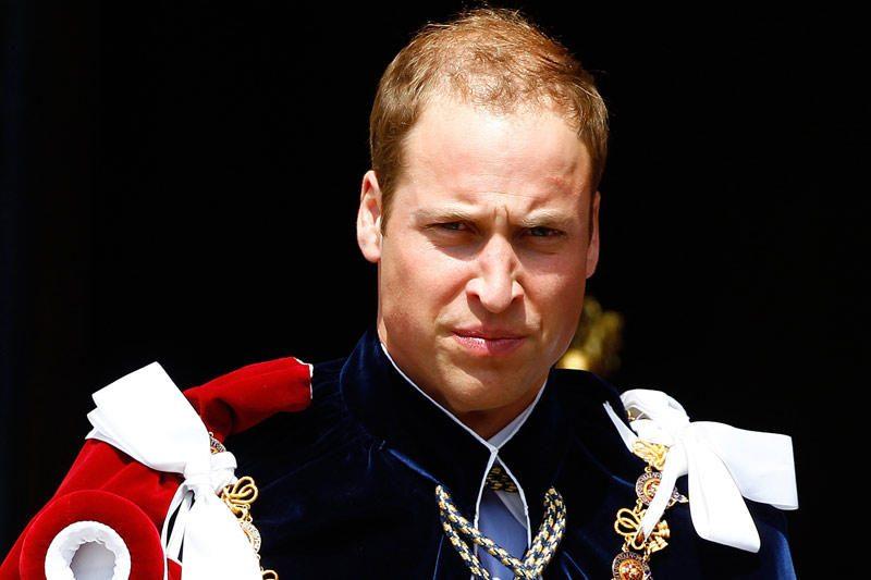 Princas Williamas atvyko į Folklando salas