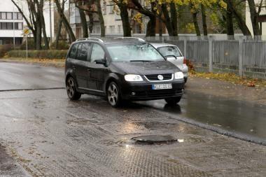 Kauno gatves bandoma lopyti netinkamomis sąlygomis? (papildyta)