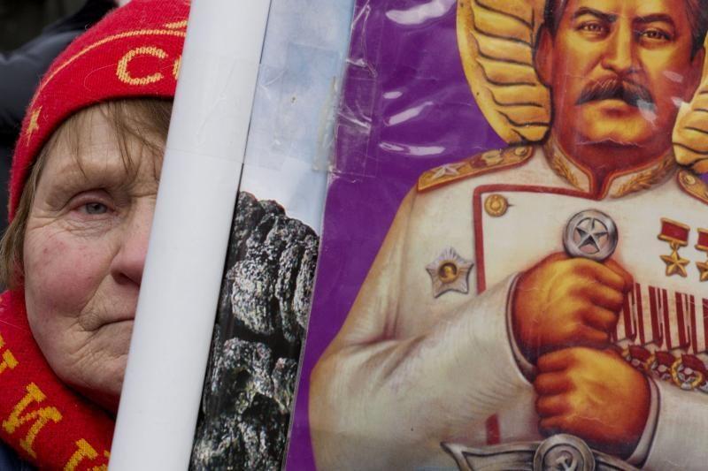 Rusijoje minima Stalino mirties 60 metų sukaktis
