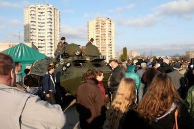 Kauniečiai kviečiami į kariuomenės dienos šventę