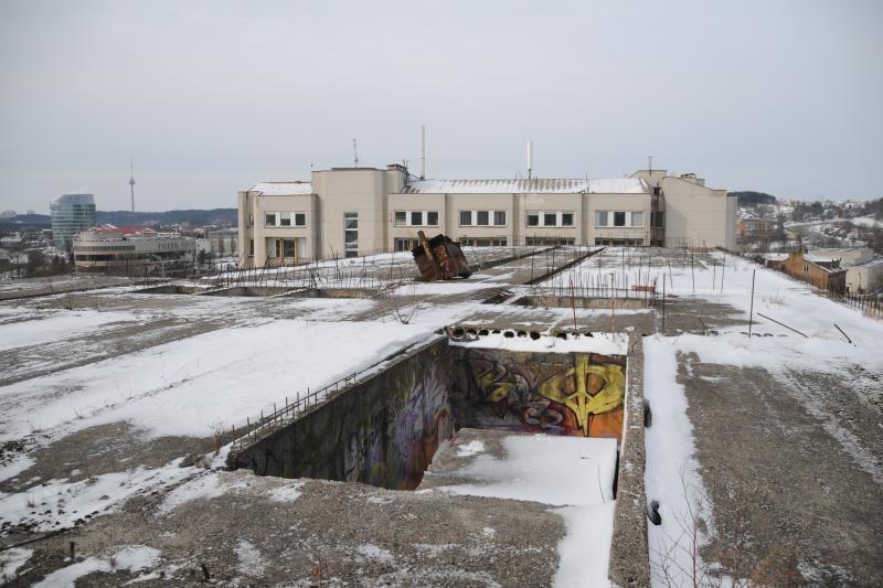 """Norvegai ėmėsi sostinės """"Sputniko"""" griovimo darbų"""