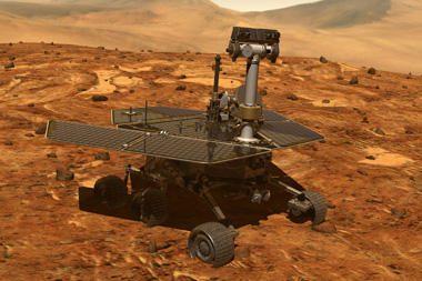 """Eksperimento dalyviai """"nusileido Marse"""""""