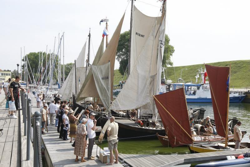 Debiutas Jūros šventėje – istorinių laivų paradas