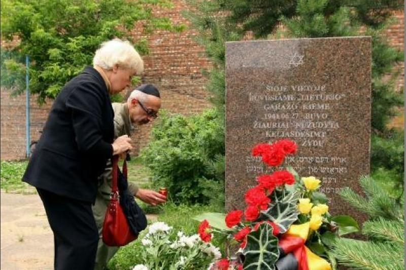 Klaipėdoje - Lietuvos žydų genocido dienos minėjimas