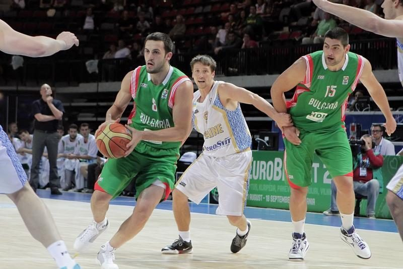 Ukrainos krepšininkai Klaipėdos arenoje įveikė bulgarus