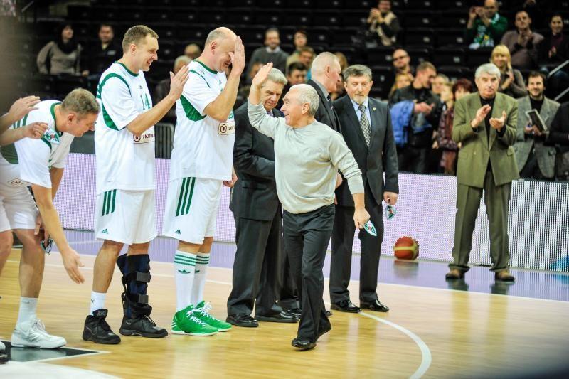 """Legendų mače A. Sabonio šou nukalė pergalę """"Žalgiriui"""" (komentarai)"""