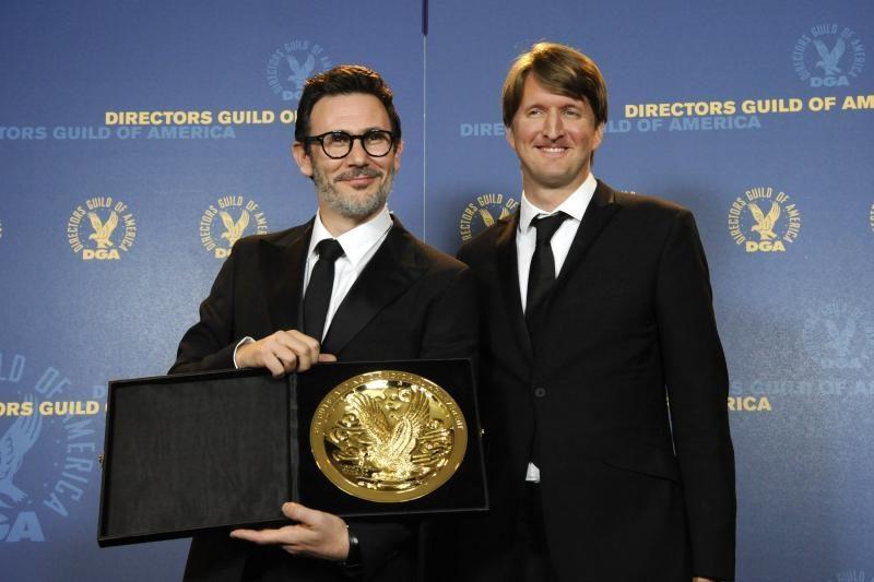 """Amerikos režisierių gildijos apdovanojimas – """"Artisto"""" režisieriui"""
