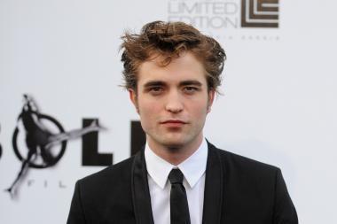 Seksualiausiu pasaulyje vyru pripažintas aktorius R.Pattinsonas