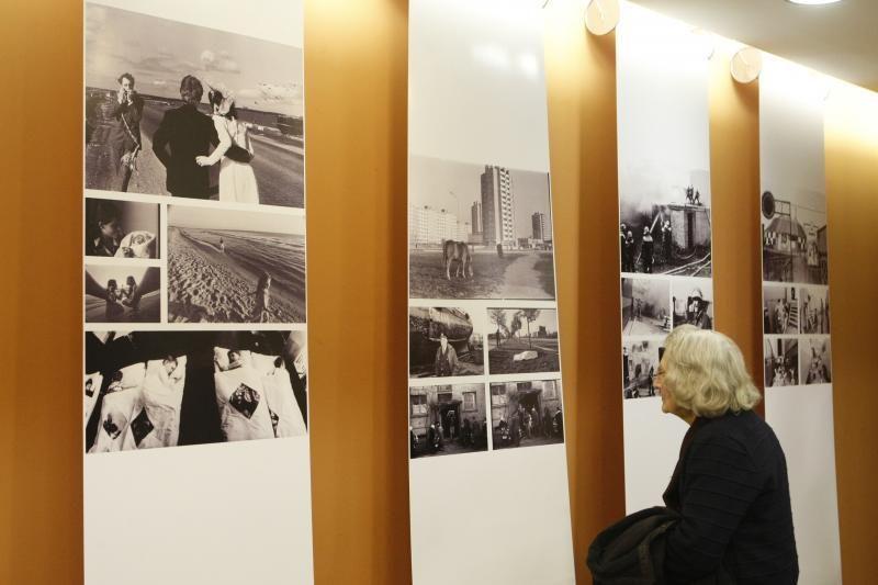 S. Jokužio fotografijų parodos atidaryme - užuominos apie ordiną