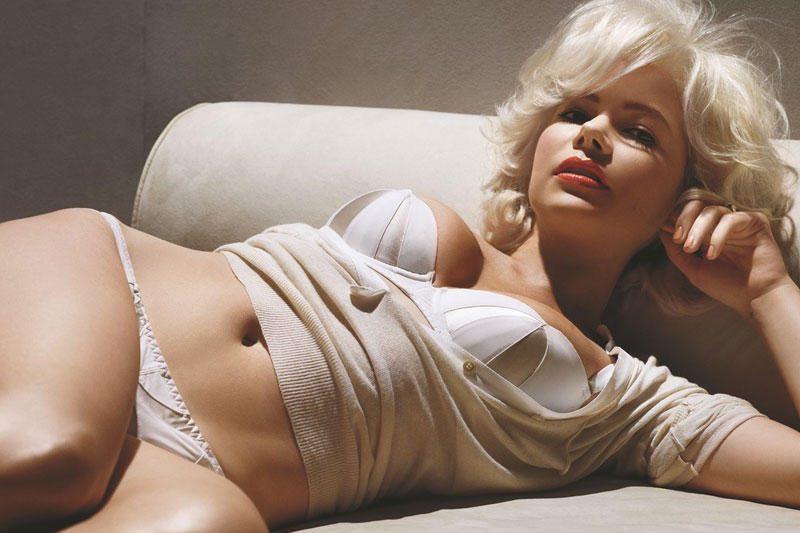 M.Williams, įkvėpta Marilyn Monroe vaidmens, nusimetė drabužius
