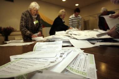 Pusė rinkėjų dar nežino, ar balsuos savivaldos rinkimuose