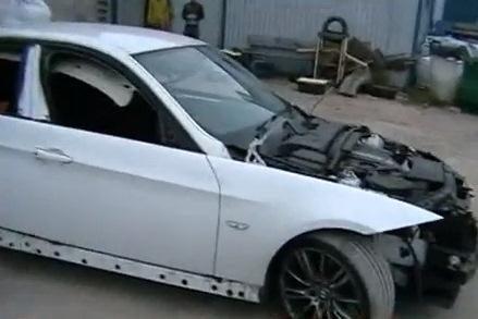 Užsienyje pagrobti BMW automobiliai rasti Garliavoje (papildyta)
