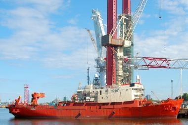 "Klaipėdoje baigta laivo ""Sentinel"" modernizacija"