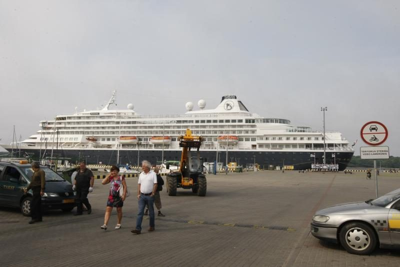 Klaipėdos uoste – pirmą kartą pasirodęs galiūnas