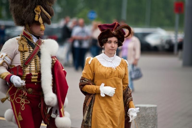 Napoleoną įkūnijantis rusų profesorius: privalėjau atvažiuoti į Kauną