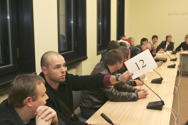 Kauno savivaldybės aukcione parduotas ir