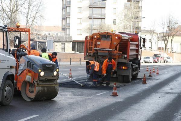 Baigiami Smeltės kvartalo gatvių kapitalinio remonto darbai