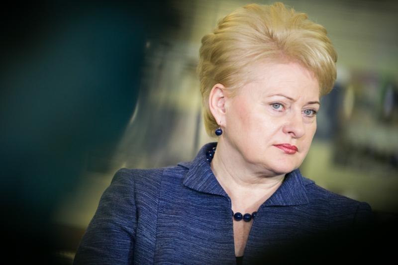 D. Grybauskaitė Europos Parlamentui: nepamirškime tesėti pažadų
