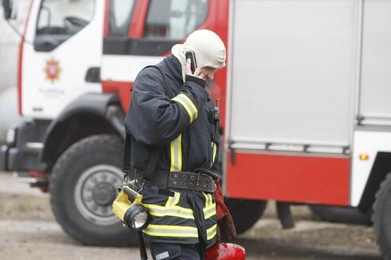 Gaisras Klaipėdos rajone pridarė nuostolių trims šeimoms