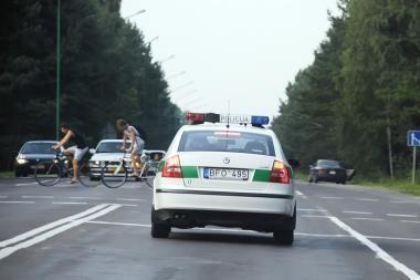 Klaipėdos gatvėse trečiadienį surengtos policijos pajėgų pratybos