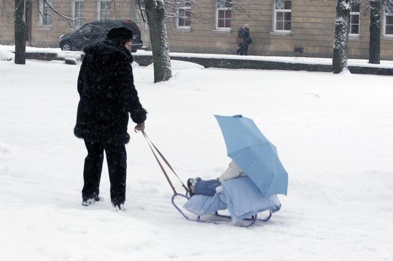 Kodėl Vilniuje  niekas neišveža  sniego?