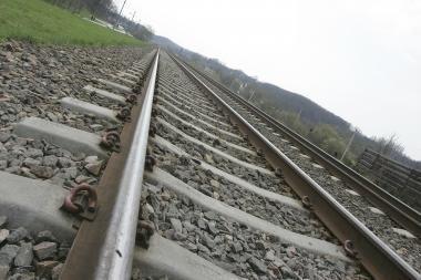 Palemone traukinys mirtinai sužalojo 22-ejų jaunuolį
