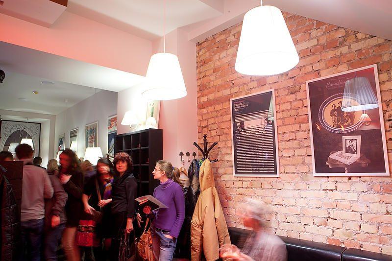 Dizaineris A.Pogrebnojus sukūrė interjerą sostinės kavinei