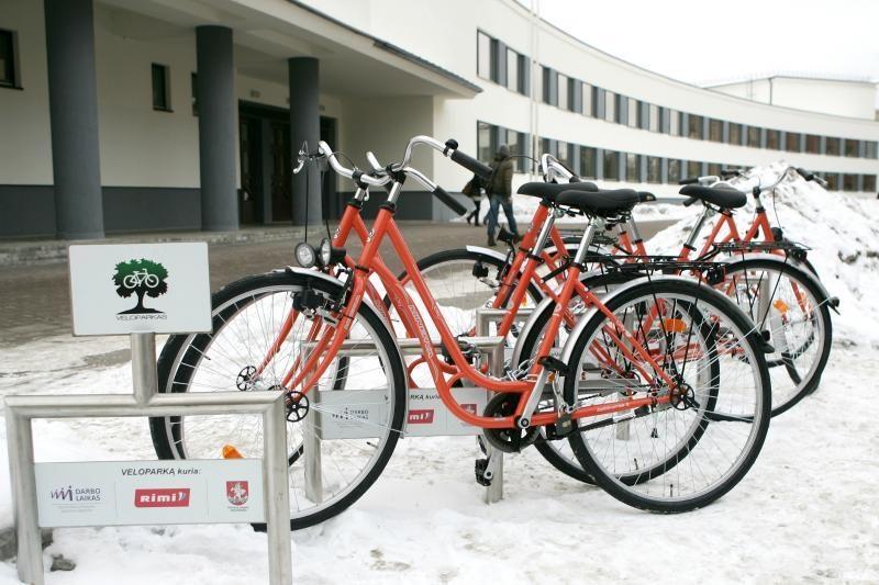 Vilniaus meras vėl svajoja apie oranžinius dviračius