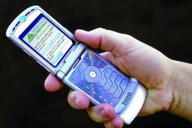 Moksleiviai Marijampolėje šturmavo SMS žinutės rašymo greičio rekordą