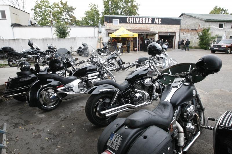 Klaipėdoje baikeriai uždarė motociklininkų sezoną