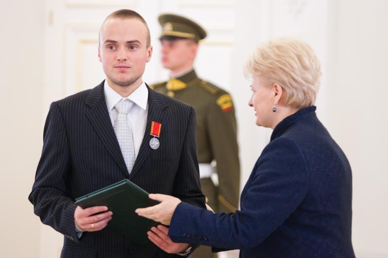 Prezidentė D.Grybauskaitė pagerbė šalies sportininkus