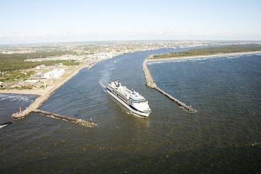 Klaipėdos uosto pristatytas kruizinės laivybos konferencijoje