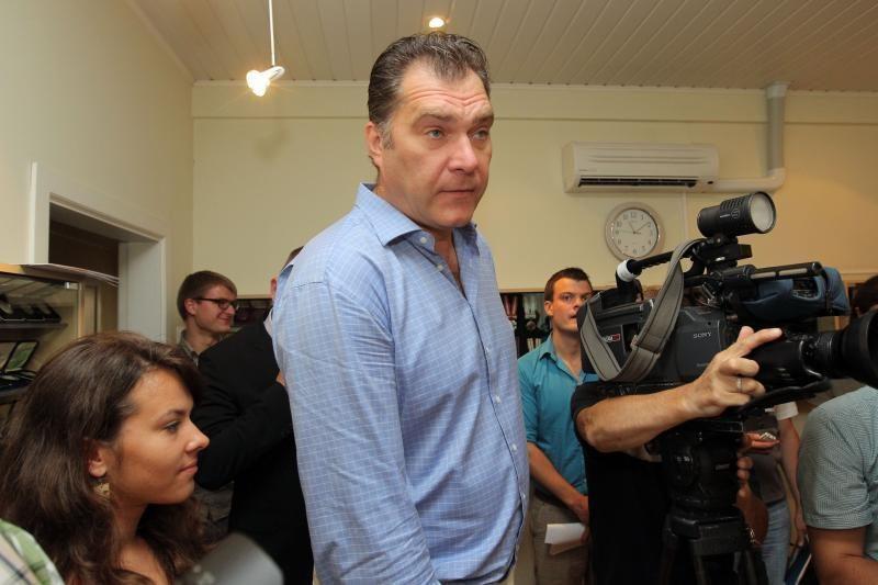A.Sabonį apšmeižusiam rusų žurnalistui lietuviai linki degti pragare