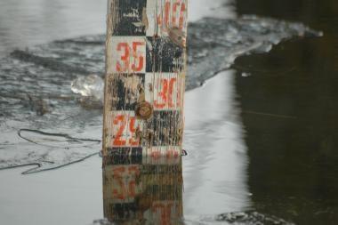 Pamaryje vanduo gali pakilti iki stichinio lygio