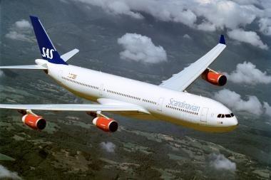 SAS pripažintos punktualiausiomis oro linijomis pasaulyje
