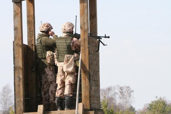 Kairių poligone – Afganistano karių pratybos