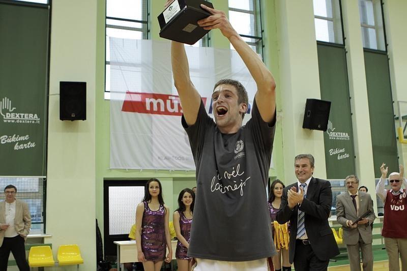 Jubiliejinė kauniečių studentų pergalė