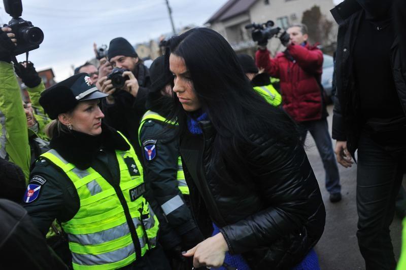Teismas vėl negalėjo nagrinėti Kauno policininkų bylos