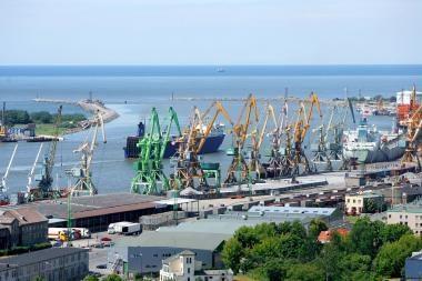 Klaipėdos uosto krova sumažėjo 18 proc.