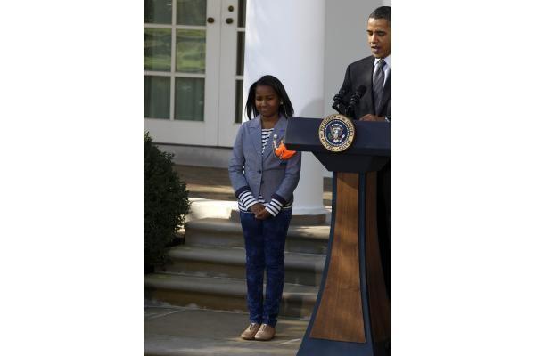 B.Obama prieš Padėkos dieną suteikė malonę dviem kalakutams