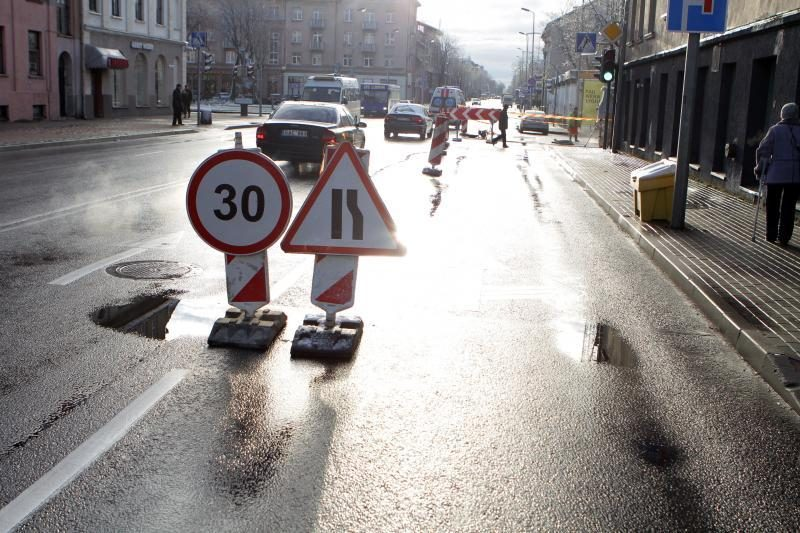 Manto gatvėje ties J.Janonio gatve – eismo apribojimai