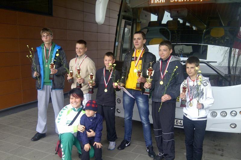Klaipėdiečiams – Šveicarijos čempionato titulai