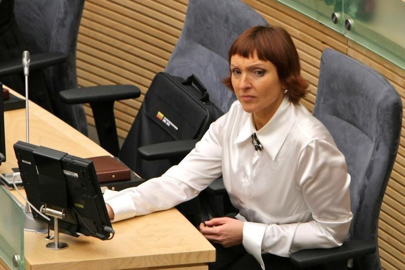A.Baukutei antrąkart užtrenktos durys į Seimą