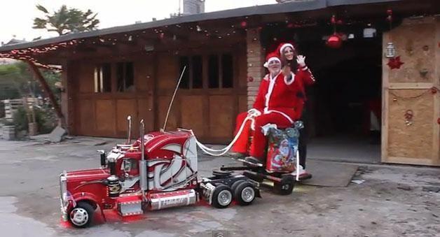 Kalėdų Senelis savo elnius galės iškeisti į vilkiką