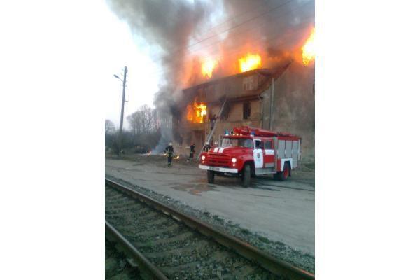 Klaipėdoje apleistame pastate sudegė žmogus