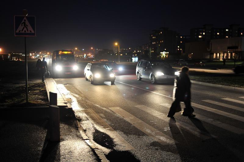 Sausį Kauno gatvėse sužeista dukart daugiau pėsčiųjų