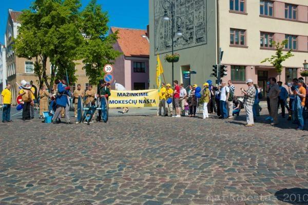Laisvės nuo mokesčių diena Klaipėdoje