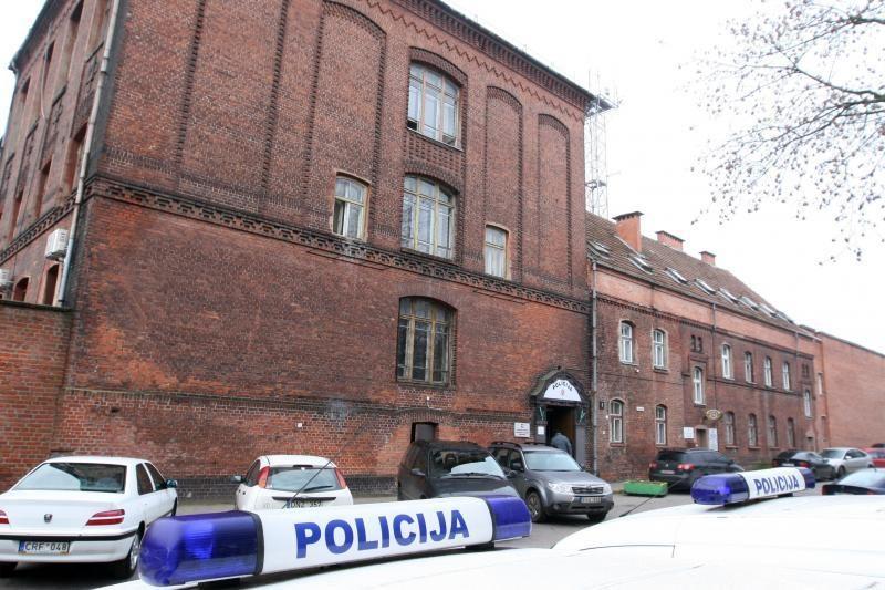 Turto bankas prašo paskolos policijos komisariatui Klaipėdoje
