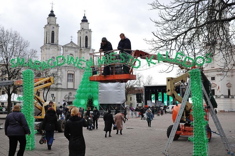 Miesto raktas perduotas Kalėdų senelio pirmtakui – Šv. Mikalojui